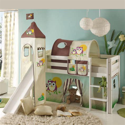 weißes hohes bett babybett nestchen selber machen