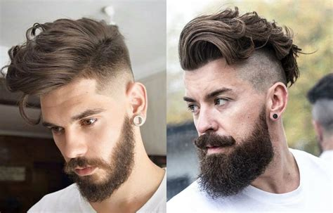 hairstyles and beards 2017 fresh stylish mens undercut beards 2017 hairdrome com