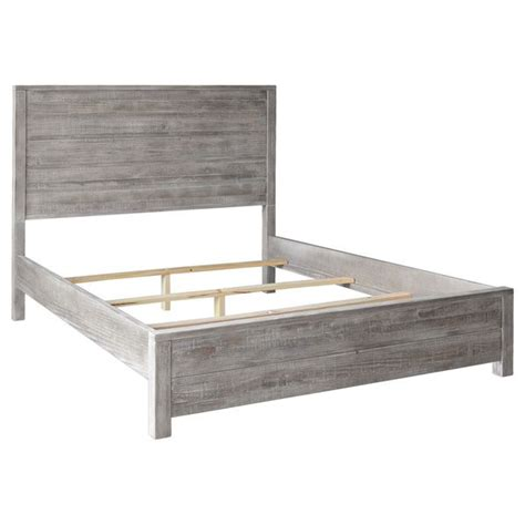 Grain Wood Furniture Montauk Queen Solid Wood Panel Bed Wood Panel Bed Frame