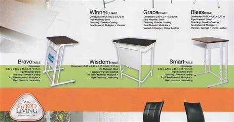 Meja Sing Sisi Roda Serbaguna angkasa bali furniture distributor kursi meja kantor bali