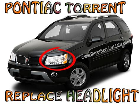 pontiac torrent light how to replace the headlight assembly on pontiac torrent