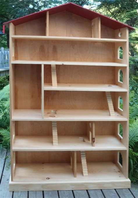 wood doll house plans ana white dollhouse bookcase plans pdf woodworking