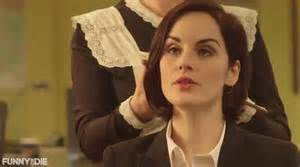 mary crawley haircut michelle dockery short hair hairstylegalleries com