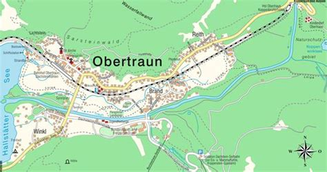maps at map obertraun ober 246 sterreich austria maps and