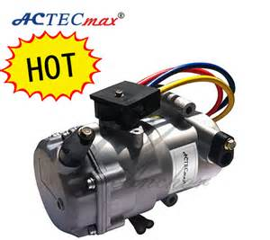 Electric Motor For Car Ac 12v Dc Air Conditioner Compressor For Cars By Electric