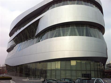 mercedes benz museum stuttgart un studio someone has built it before