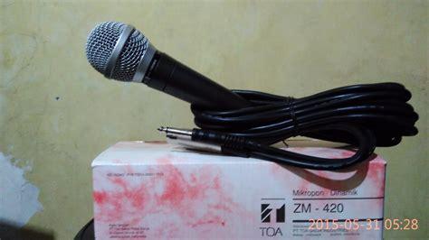 Kabel Speaker Toa jual microphone toa original zm 420 tokojokamtech