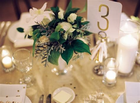 reception decor once wed elegant table settings gold new orleans black tie wedding reception table numbers