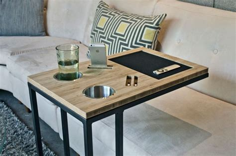 sofa c table modern tv tray tables and fabulous ways to use them