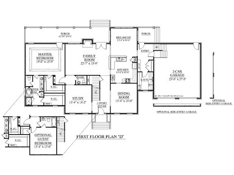 house designs with master bedroom at rear southern heritage home designs house plan 3397 d the