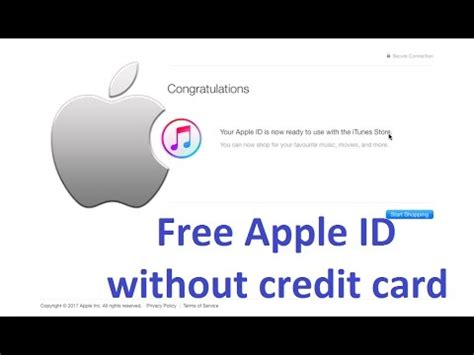 make a free apple id without credit card create free apple id without credit card working 100