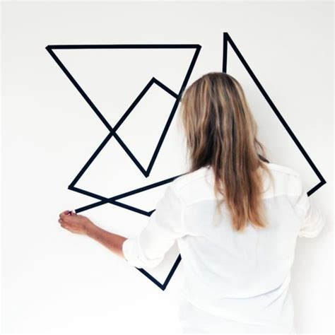 Ecken Block Formen by Geometrische Formen Tolle Wandgestaltung Mit Farbe