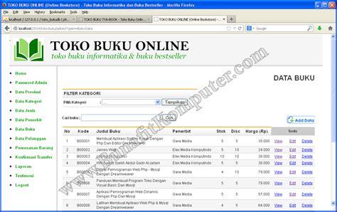 Membuat Web Toko Online Dengan Php | membuat toko online php source code website toko online