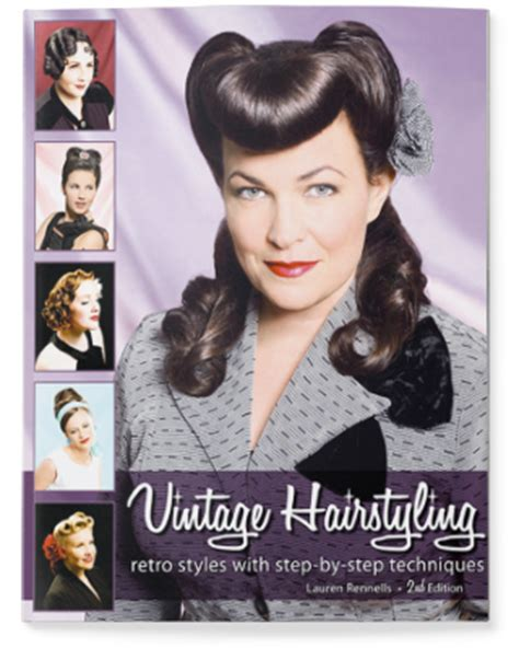 hairstyle books for women vintage hairstyling vintage pinup hair tutorial book