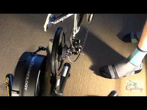wahoo kickr tutorial how to setup the kickr indoor power trainer doovi