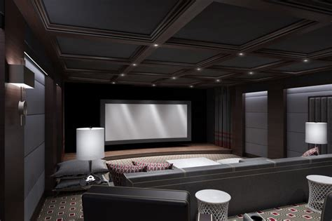 Design Modern Home Theater Luxury Home Theater
