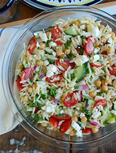 recipe of the week summer pasta salad fundcraft summer orzo pasta salad recipe a cedar spoon