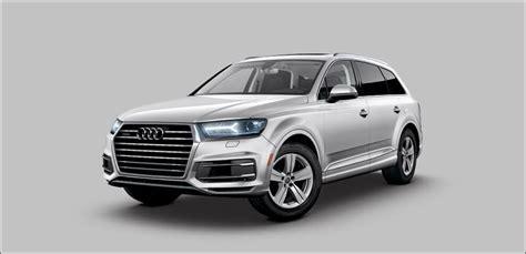 2019 Audi Q7 by Audi Q7 Packages Options 2019 Audi Q7 Audi Library