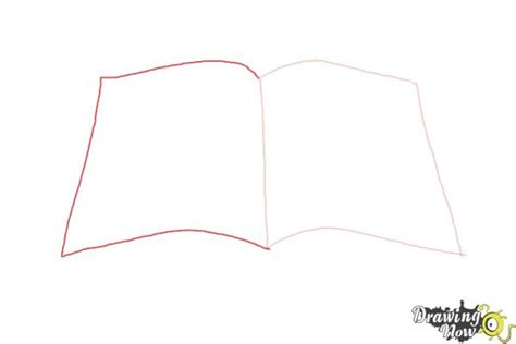 how to draw a picture of a book how to draw an open book drawingnow