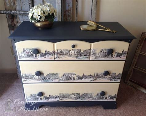 Decoupaging Furniture - 296 best decoupage furniture images on
