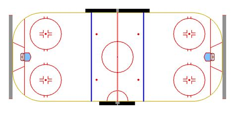 hockey rink layout design buffalo nickel graphics templates