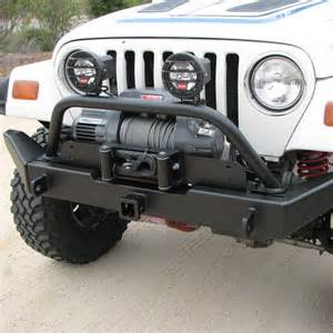 Jeep Front Bumper With Receiver G2 Series Front Bumper Tj Bumpers