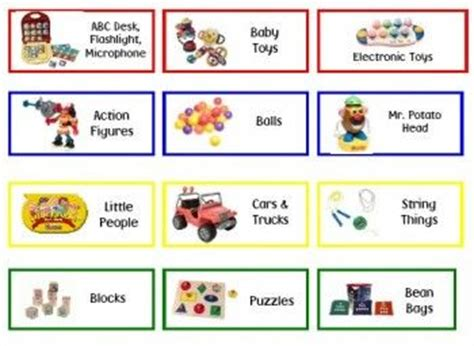 label templates for toy boxes bin labels toys and make your on pinterest