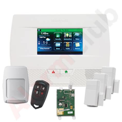 honeywell lynx l5210 cellular 3g wireless security system kit