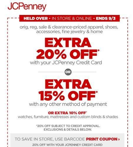 jcp printable store coupons jcp coupons in store printable
