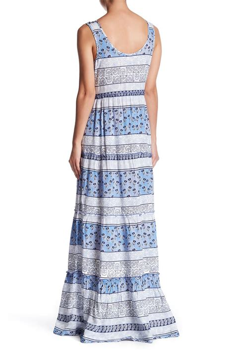 Beachlunchlounge Maxi by Lyst Lunch Lounge Terrie Maxi Dress In Blue