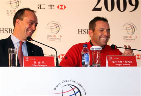 giles hsbc sergio garcia and giles photos photos zimbio