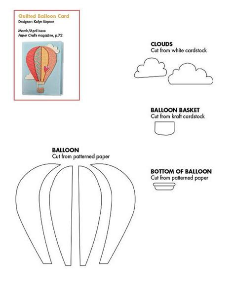 pattern air balloon free hot air balloon and cloud pattern download patterns
