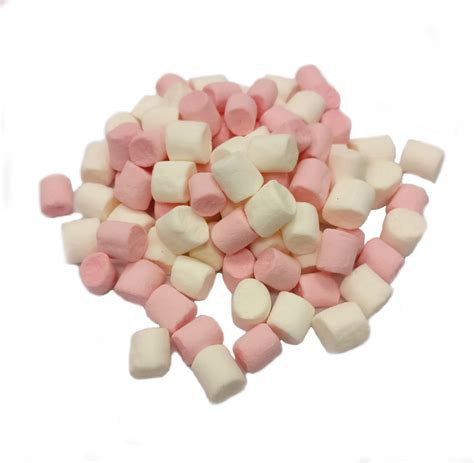 Mini Marshmallows by Blizz Mini Marshmallows Pink And White Martin Food