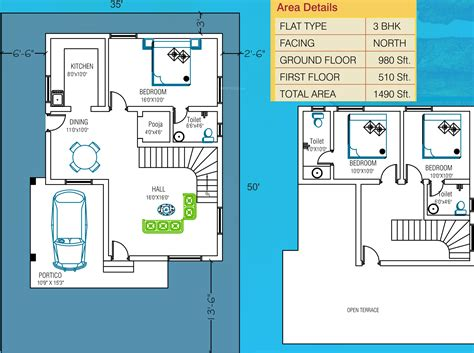 layout strategy of apple 1490 sq ft 3 bhk 3t villa for sale in sss shelters apple