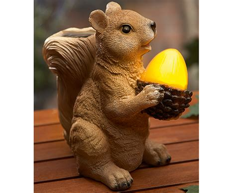 Squirrel Solar Light S S Garden And Travel