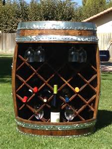 hand crafted wine barrel wine rack by wyld at heart customs custommade com