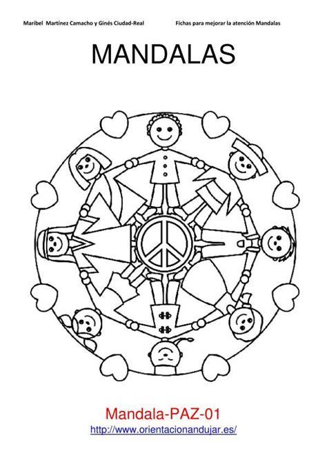 imagenes de mandalas de la paz coloreamos mandalas 30 enero d 237 a de la paz 2013