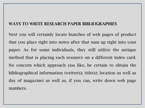 proper way to write a research paper ppt how to write a research paper powerpoint