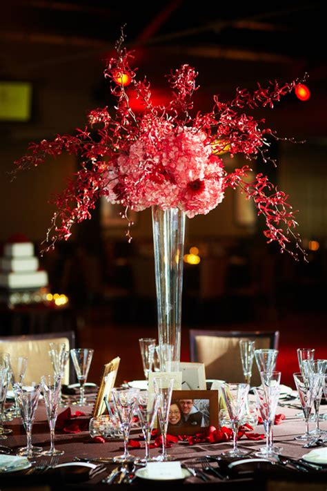 Glass Decorations For Home by 16 Tall And Dramatic Wedding Centerpieces Preowned