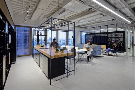tech office design unnamed company office by auerbach halevy architects