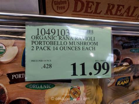 rana organic portobello mushroom ravioli