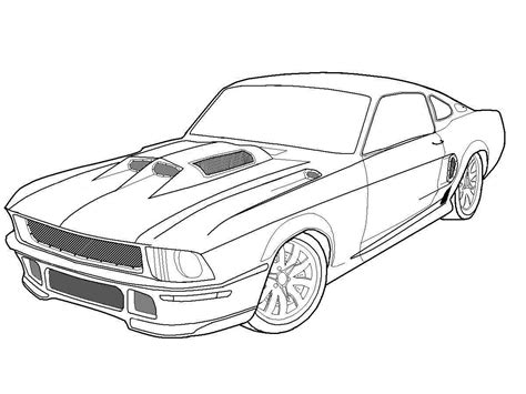 1969 boss mustang car coloring pages best place to color 1967 ford mustang boss 302