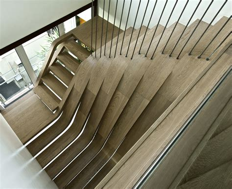 Apartment Stairs Design Staircase The Centerpiece Of The Apartments Allarchitecturedesigns