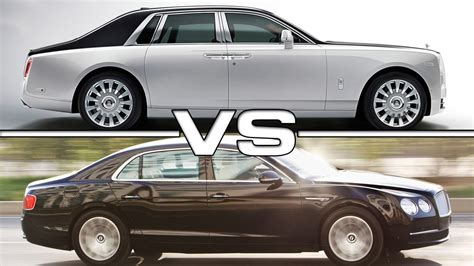 bentley phantom 2016 2018 rolls royce phantom vs 2016 bentley flying spur