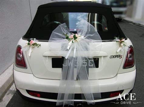 Wedding Car Decoration Singapore by Mini Cooper S Open Top Wedding Car Decorations