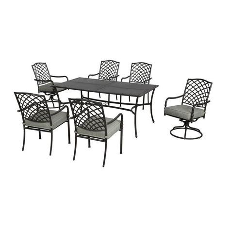 hton bay ashtabula 7 patio dining set fss60445st
