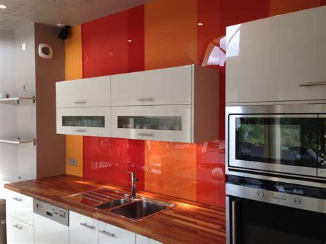 Merveilleux Couleur De Cuisine Ikea #6: cuisine-credence-rouge-orange.jpg