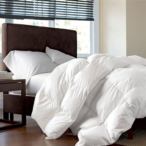 down comforter and duvet bed bath white goose feather down 13 5 tog duvet