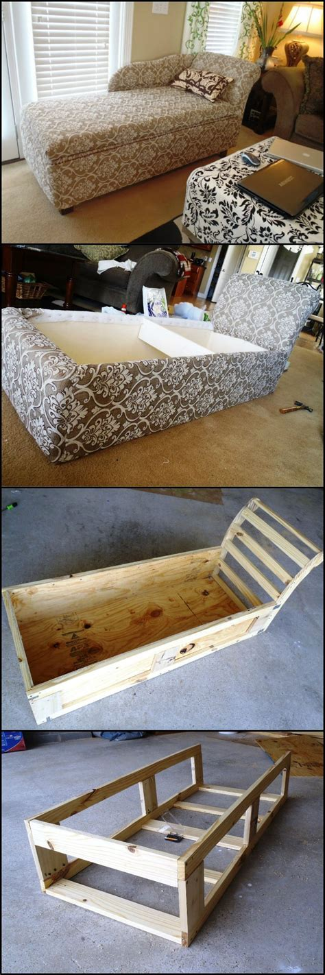how to build a chaise lounge how to build a chaise lounge with extra storage space http