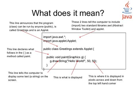 meaning of layout in java java programming for designers